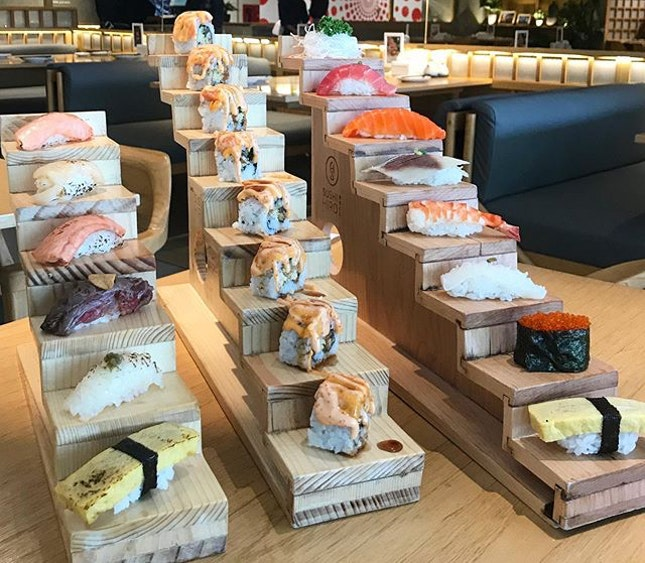 The best fusion sushi restaurant in Jakarta.