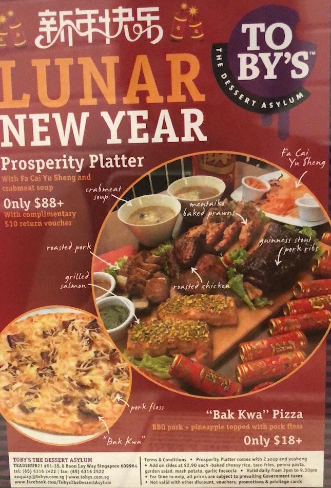 CNY Platter