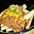 Chili Con Carne Fries @ Aria (Cafe) SUTD.
