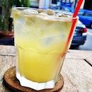 Created my own Caribbean Cocktail @ Lime House.
