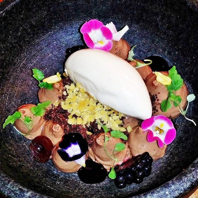 Deconstructed Blackforest (SGD $14) @ Portico.