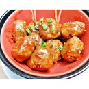 Meat Balls In Brown Sauce (SGD $9.50) @ Sque Rotisserie & Alehouse.