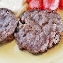Carne De Hamburguer Set Lunch (SGD $10.90++) @ Carnivore Brazilian Churrascaria.