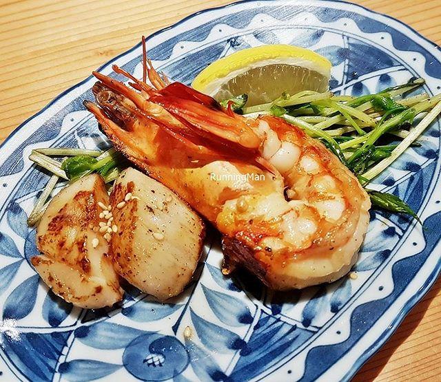 Shrimp & Scallop (Omakase Set Meal) @ Osaka Kitchen Teppanyaki.