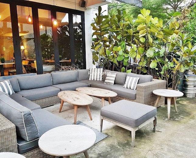 Chill Lounge Area @ Portico Host.