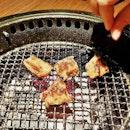 Binchotan Charcoal Grill @ Gyu-Kaku.