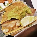 Grilled Baramundi Taco (SGD $4.60) @ The Lime Truck.