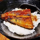 Unagi Don / Grilled Freshwater Eel With Rice (SGD $14.80) @ Gyoza-Ya.