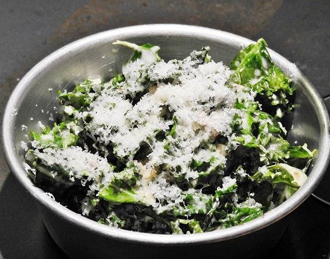 Creamed Kale (SGD $5) @ Fat Belly.