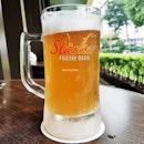 Beer Starker Lychee (SGD $16.90) @ Starker Bistro.