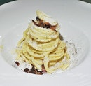 Spaghetti Alla Carbonara (SGD $25) @ In Piazza.