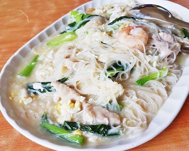 White Bee Hoon (SGD $5 / $9 / $12 / $16) @ Jin Hock Seafood Restaurant.