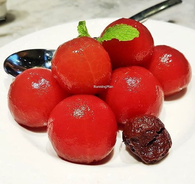 Rose Cherry Tomato (SGD $10) @ TungLok XiHe Peking Duck.