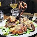 Whole Heritage Chicken, Potato, And Fennel Pollen (SGD $68) @ Le Bon Funk.