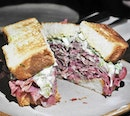 Beef Tongue And Gribiche Sammy (SGD $26) @ Le Bon Funk.