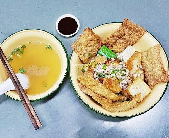 Yong Tau Foo (SGD $7.20) @ People Park Hakka YTF.