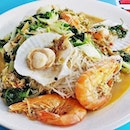 Prawn Scallops Black Pepper Bee Hoon (SGD $15) @ Don Signature Crab.