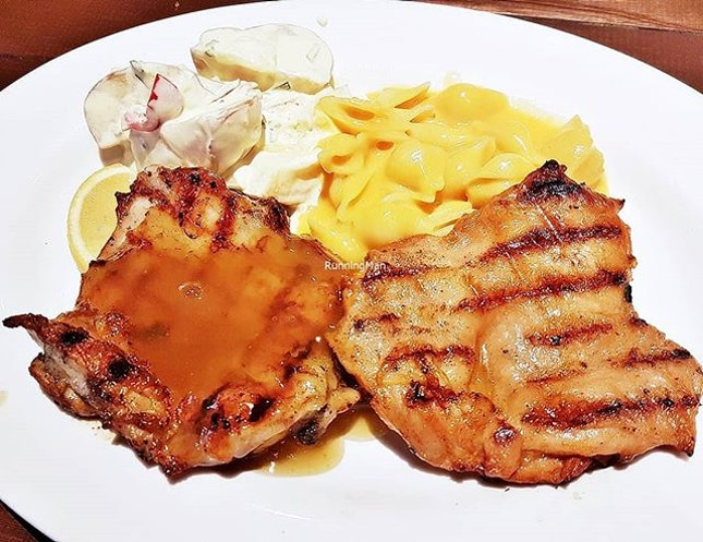 Double-Up Fiery Chicken & Lemon Lime Chicken (SGD $16) @ Astons Specialities.