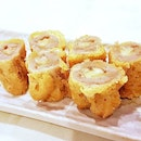 Deep-Fried Banana Yam Roll (SGD $12) @ Tonny Restaurant.