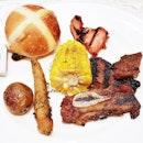Plate Of Grills (SGD $ 80++ per pax buffet) @ Beach Road Kitchen.
