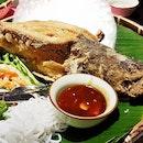 Cá Chiên Sốt Mè Cay (SGD $21.90) @ Paper Rice Vietnamese Kitchen.