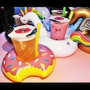 Adult Bubble Tea With Float (SGD $15) @ WAN Bar + Kitchen.