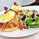 BFC Shredded Pork Benny (SGD $20) @ Black Fairy Coffee.