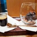 Chocolate Affogato (SGD $8) @ The Dark Gallery.