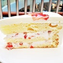 Strawberry Shortcake (SGD $9.50) @ Lady M Confections.