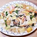 Nagasaki Sara Udon (SGD $16) @ Botan Japanese Restaurant.