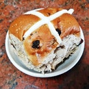 Hot Cross Bun (SGD $15 per pack of 6) @ Baker & Cook.