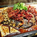 Chong Qing Grilled Limbo Fish With Tofu Beancurd (SGD $48.90) @ Tan Yu 探鱼.