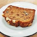 Vegan Banana Bread (SGD $5) @ Baker's Bench Bakery.
