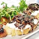 Crostini E Funghi (SGD $20) @ The Mast Of Mozzarella & Co.