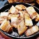 Samgyeopsal / Pork Belly (SGD $15) @ Three Meals A Day.