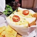 Japanese Egg Salad Sandwich (SGD $7.80) @ Tamago-En.