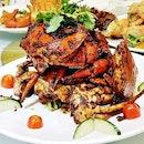 Black Pepper Crab (SGD $49.90 for 3 crabs) @ Diamond Kitchen.