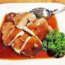Rose Wine Soy Sauce Chicken (SGD $13) @ Joyden Canton Kitchen.