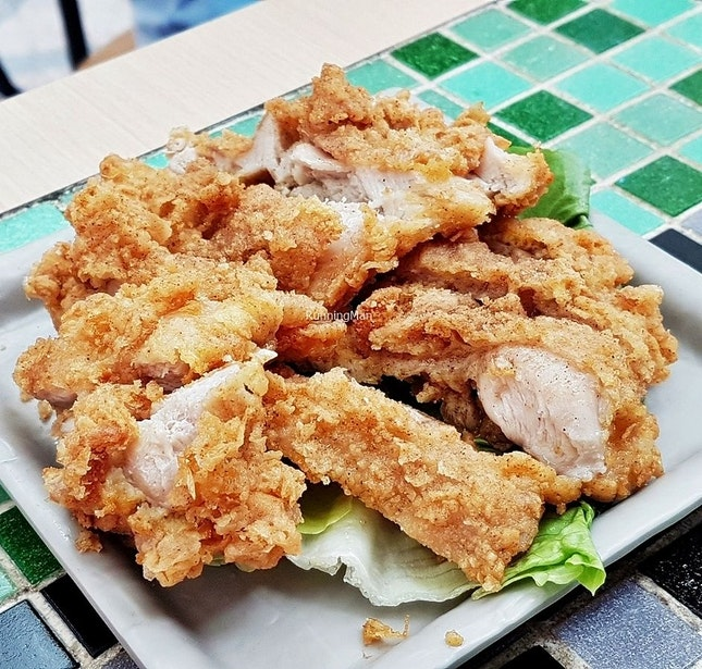 Salted Pepper Chicken Chop (SGD $5) @ Yin Ji.