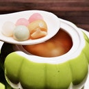 Double-Boiled Lotus Soup With Mini Glutinous Rice Balls (SGD $6) @ Si Chuan Dou Hua Restaurant.