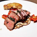 Char-Grilled A4 Wagyu Beef & Foie Gras (SGD $38 for 120g) @ PIPES By Hattendo.