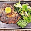 New Zealand Beef Ribeye Steak (SGD $35) @ Perch.