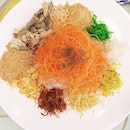 Spanish Iberico Yu Sheng $88 for large @tonny_restaurant .