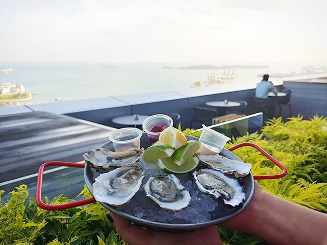 Cook & Brew, The Westin Singapore's speciality gastro-bar, is adding Oyster Thursday to its theme night.