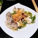 Asian Caesar Salad.