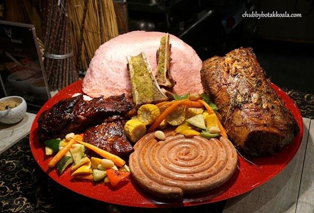 2 more weekends to check out Sizzlin's Special Buffet at AquaMarine @marinamandarinsg .