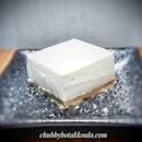 Japanese Tofu Cheese Cake $6.80, part of the new menu @ikura_sg .