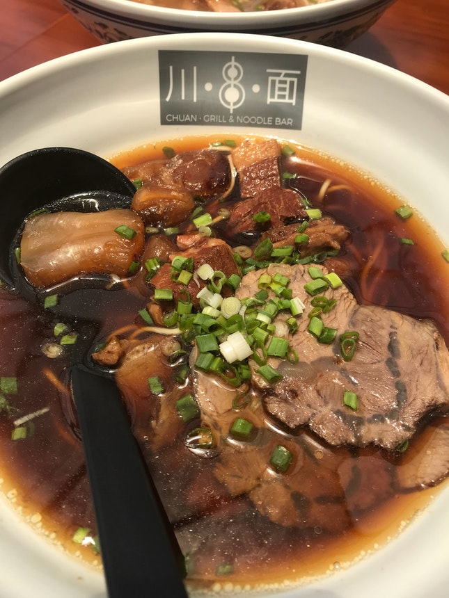 Signature Beef Combination Noodle ($16.50)