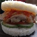Chicken Rice Burger ($9.50)