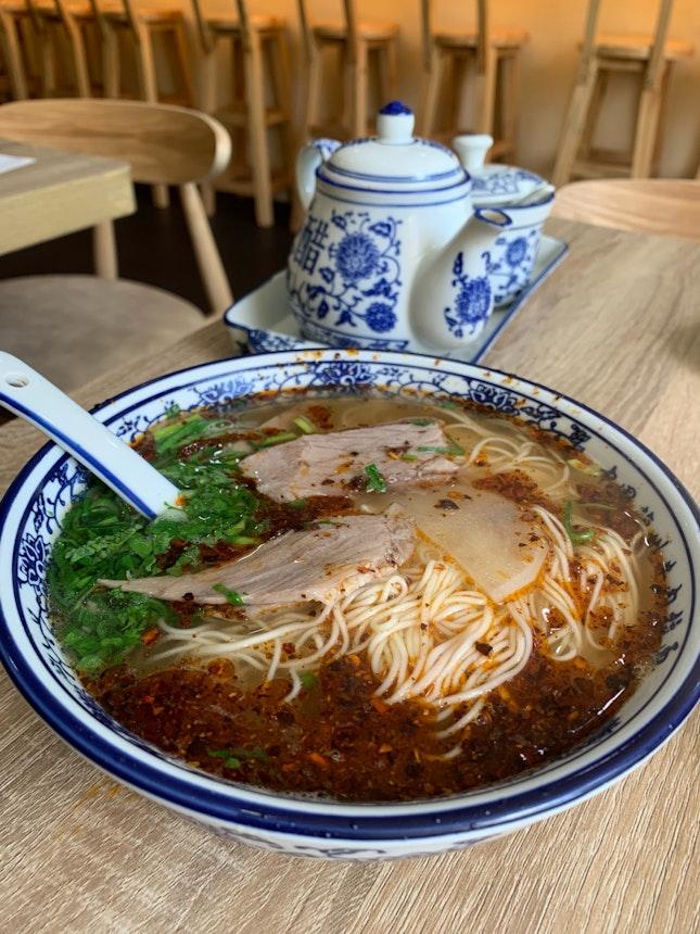 Mala Beef Noodles ($9.50)